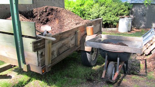 Load of compost